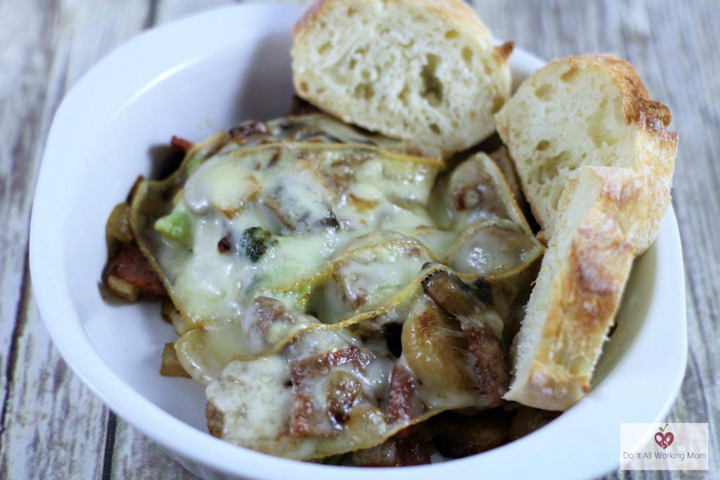 raclette appetizer