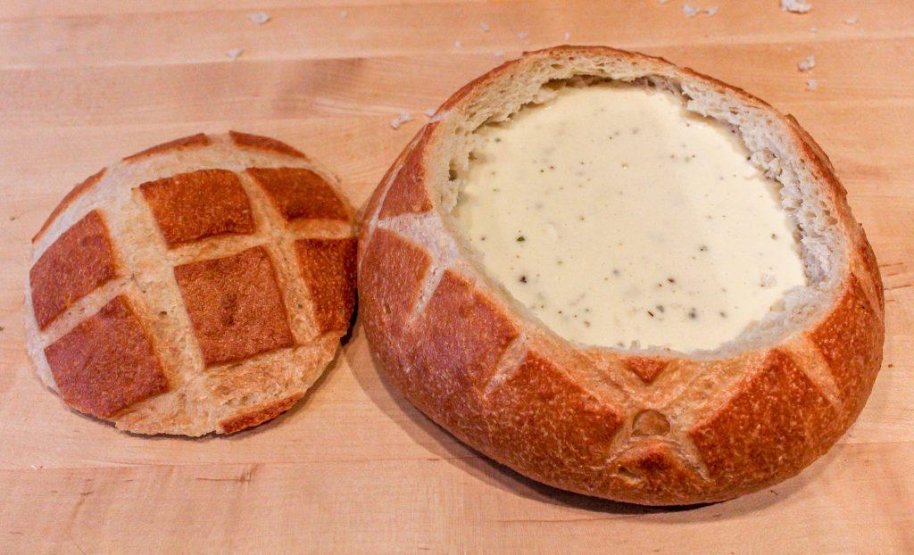 Brie in Sourdough Bread Bowl Recipe