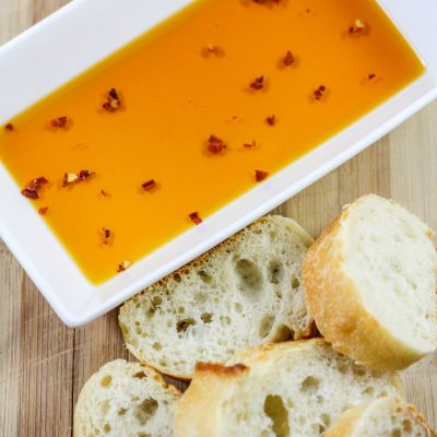 Spicy Italian Bread Dipping Oil
