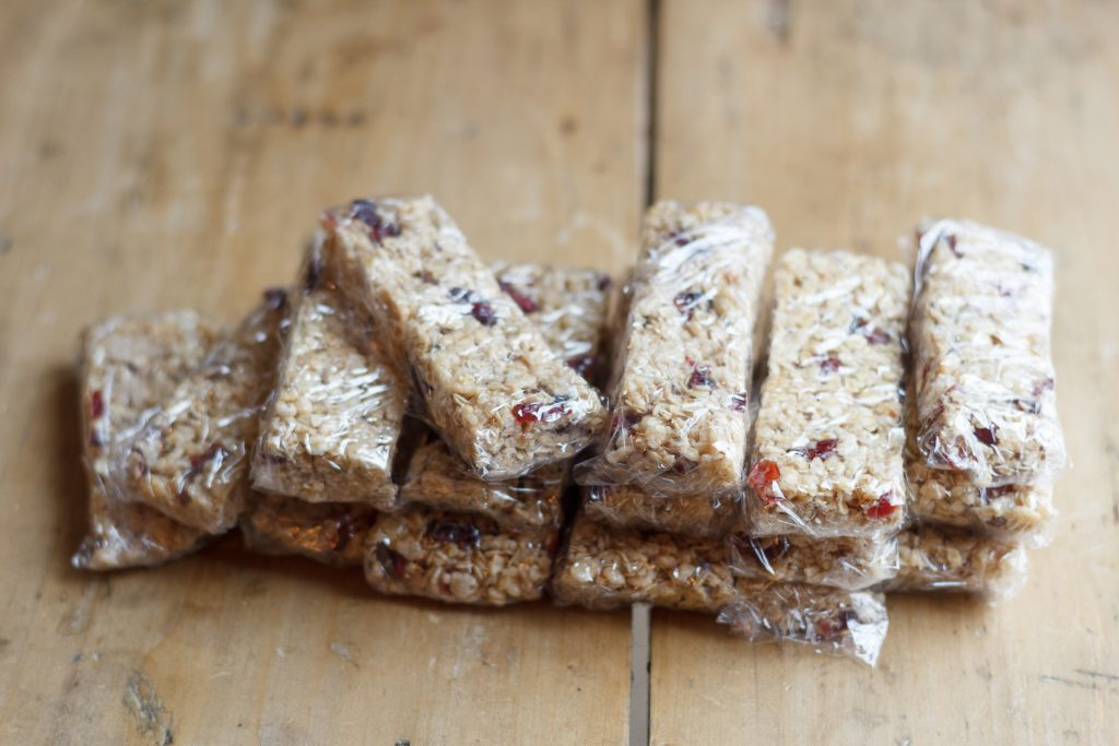No-bake Granola Bar Recipe