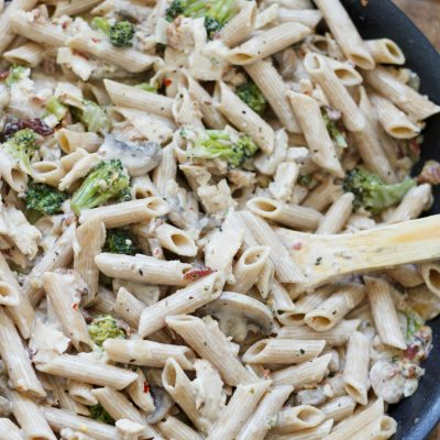 Creamy Chicken Bacon Pasta