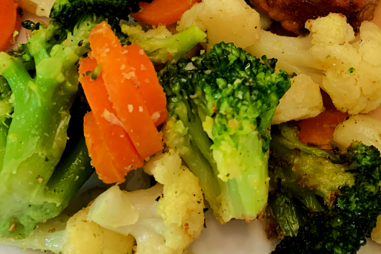 Air Fryer Frozen Vegetables